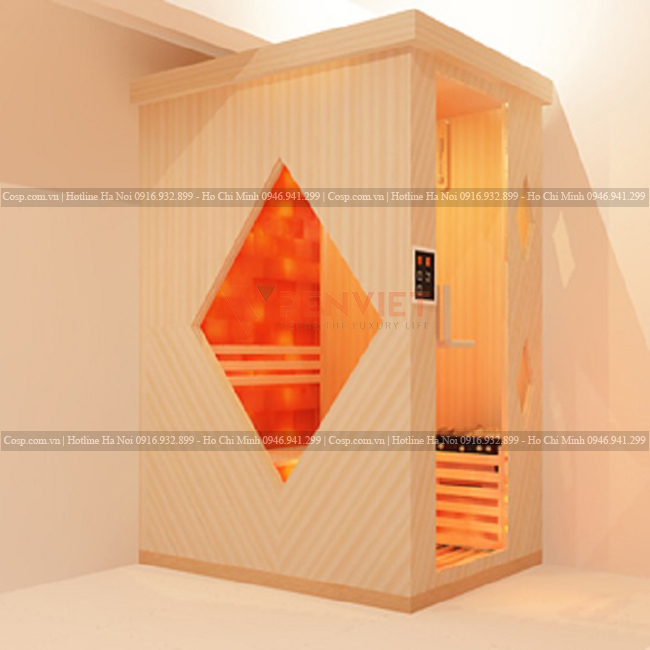 Thiết kế phòng xông hơi đá muối PV-23