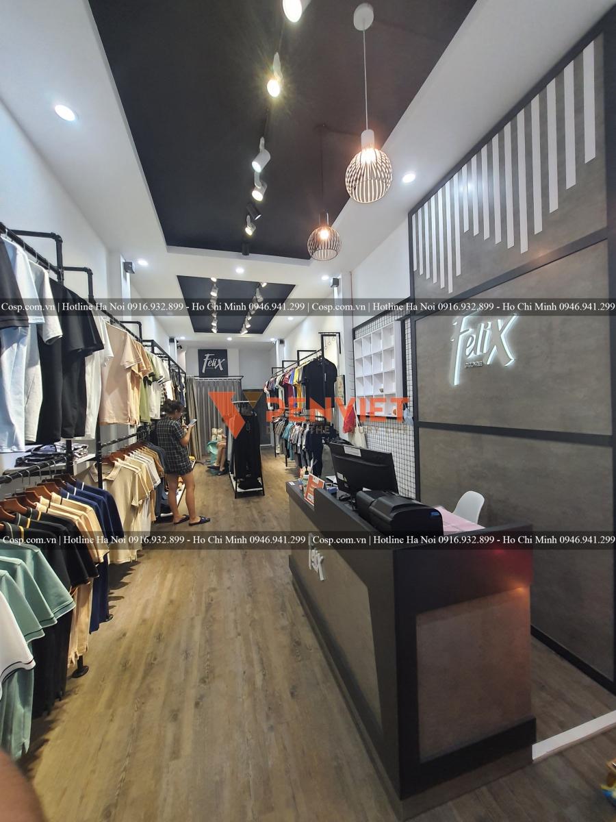 Thiết kế shop quần áo Felix