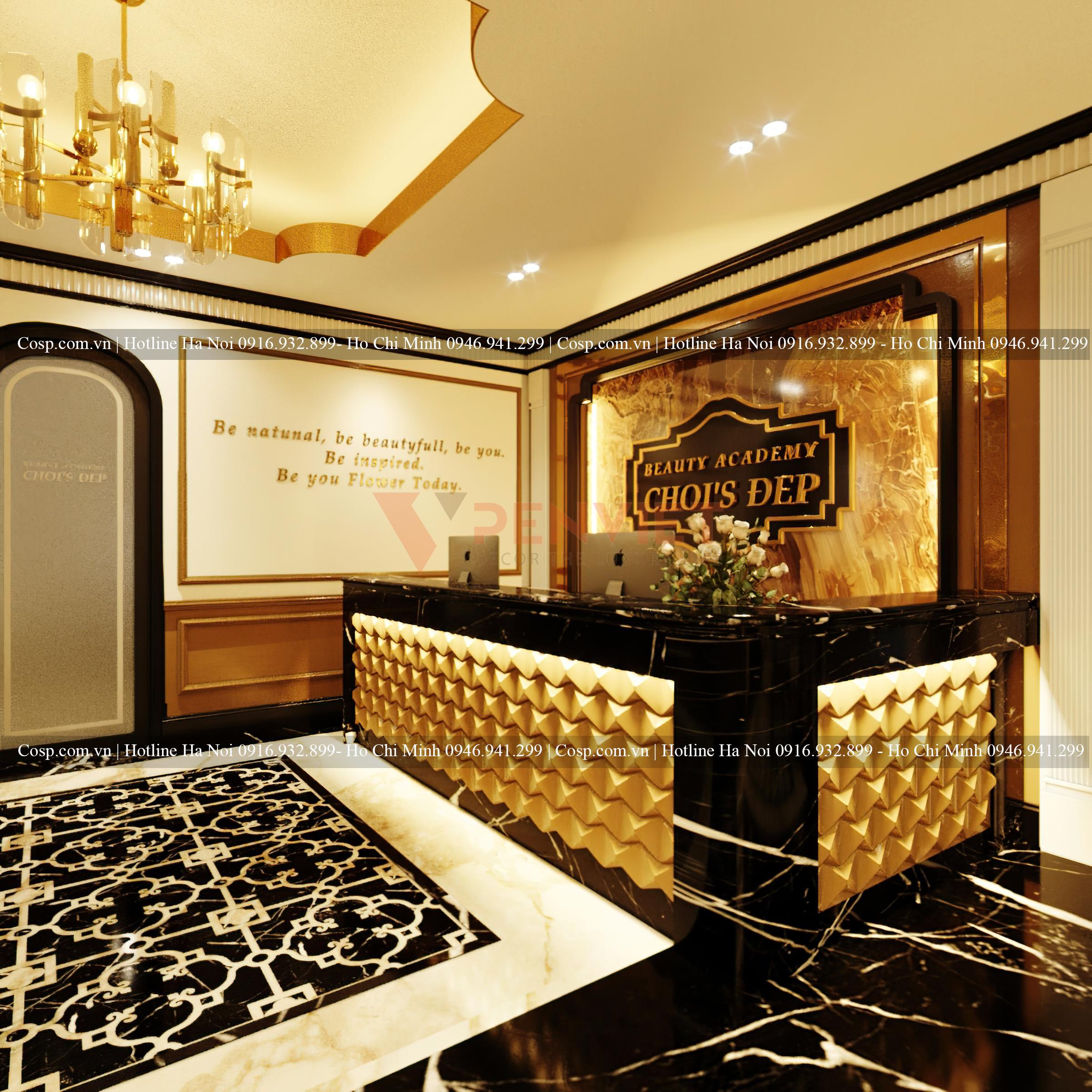 Thiết kế spa Choi's Đẹp 180 Trần Duy Hưng