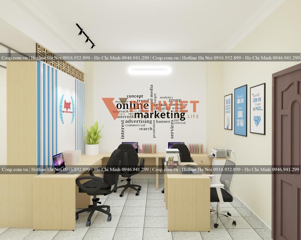 Thiết kế phòng marketing