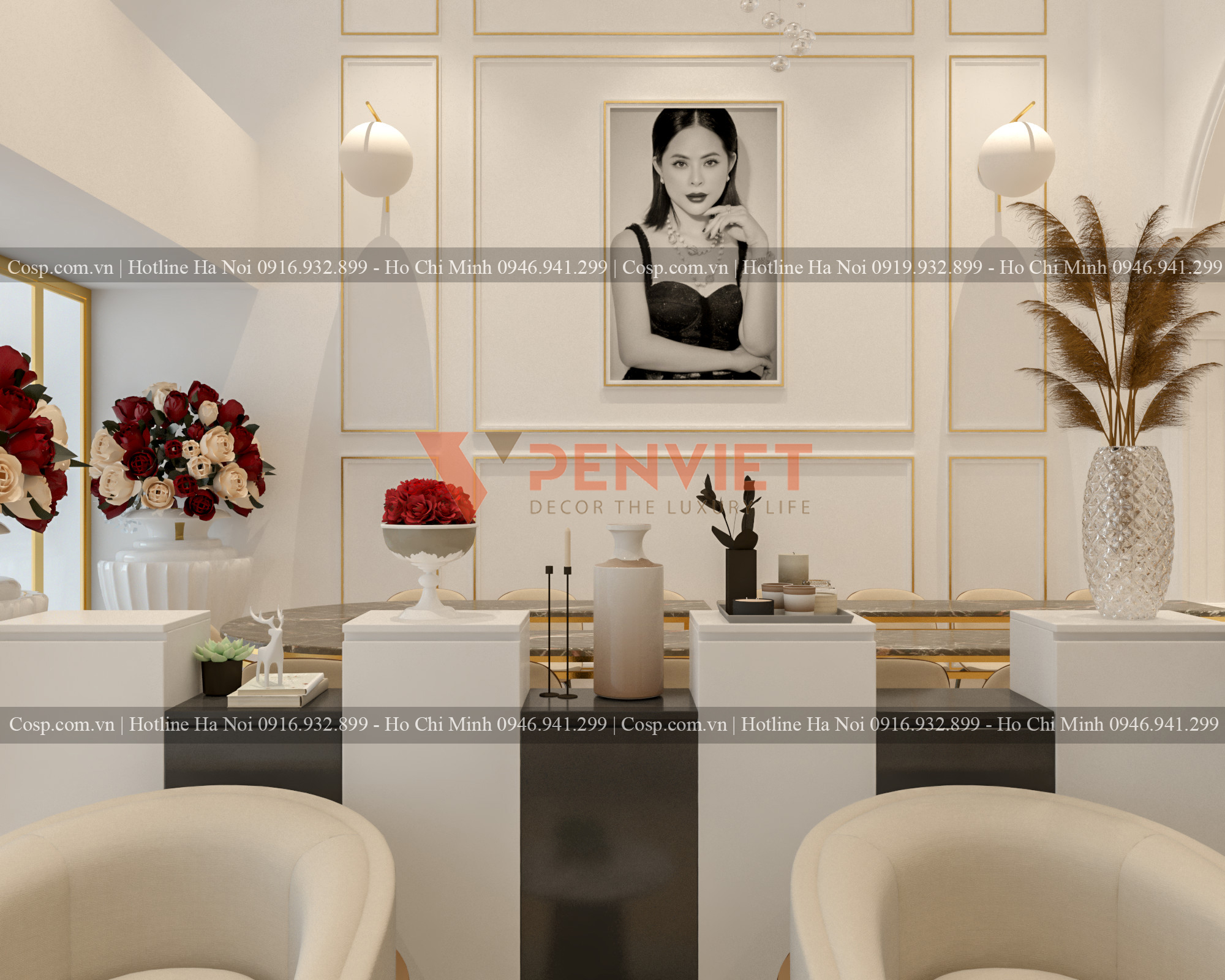thiet ke spa rosa beauty academy 2