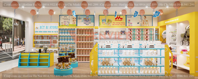 Thiết kế shop mẹ bé Bút Bi Store