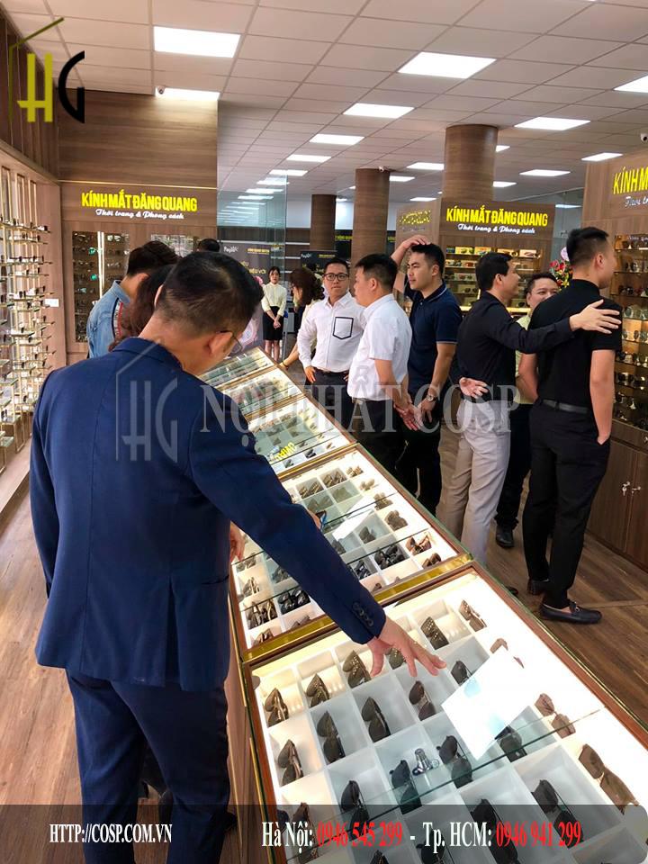 Đăng Quang Watch hết sức đầu tư cho những thiết kế shop nhất quán