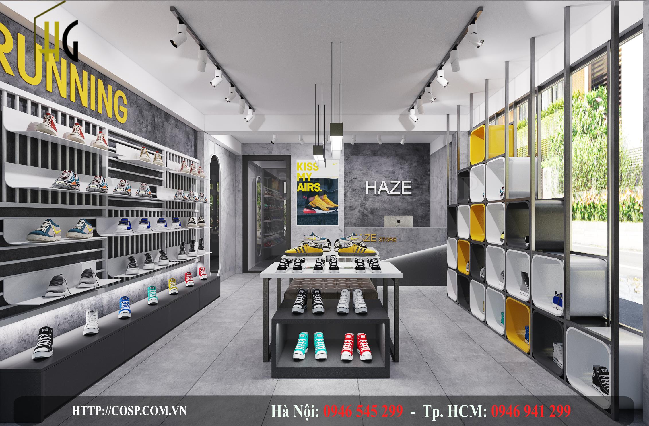 Thiết Kế Shop Giày Dép N&G