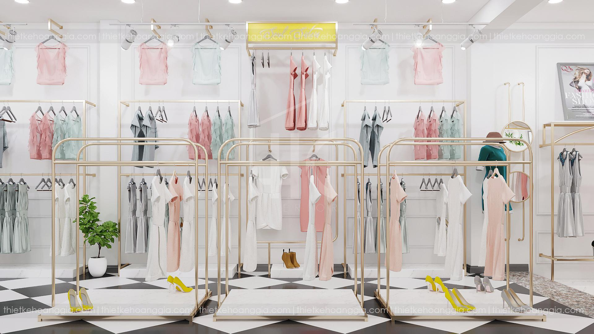 Thiết kế shop thời trang sang trọng - Soul Sisters