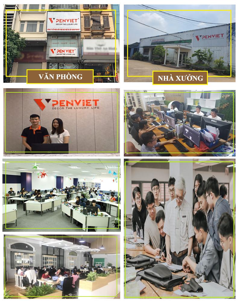 Nội thất Penviet là đơn vị hàng đầu trong lĩnh vực thiết kế spa