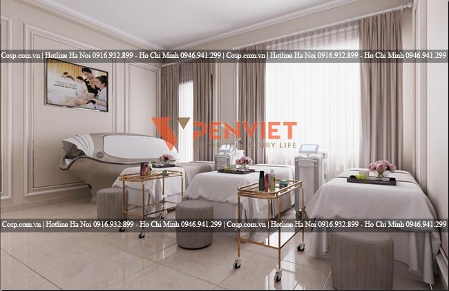 Nội thất Penviet là một trong những đơn vị cung cấp dịch vụ thiết kế thi công spa giá rẻ uy tín
