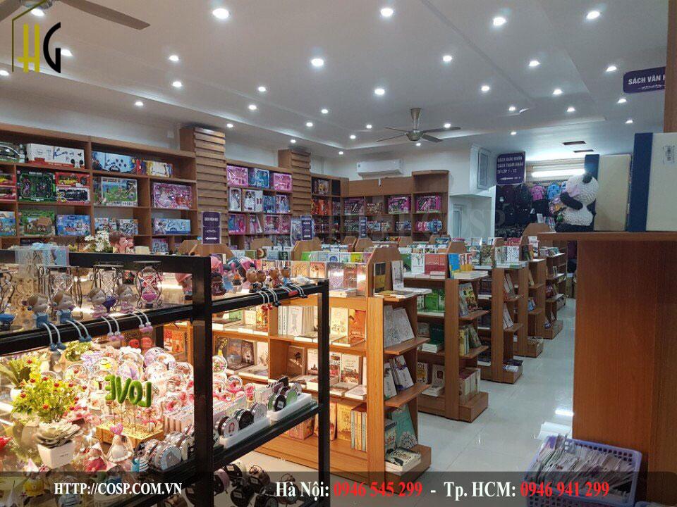 Thiết kế nhà sách Phương Anh