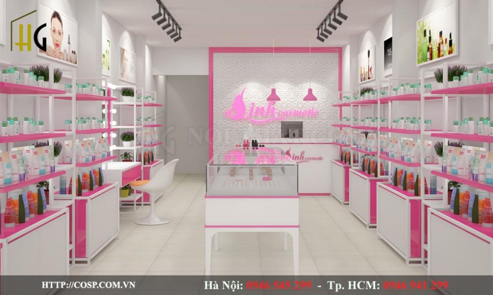 Thiết kế Linh Cosmetics