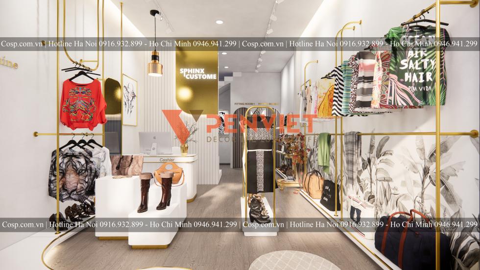 Thiết kế cửa hàng cần đảm bảo đủ ánh sáng