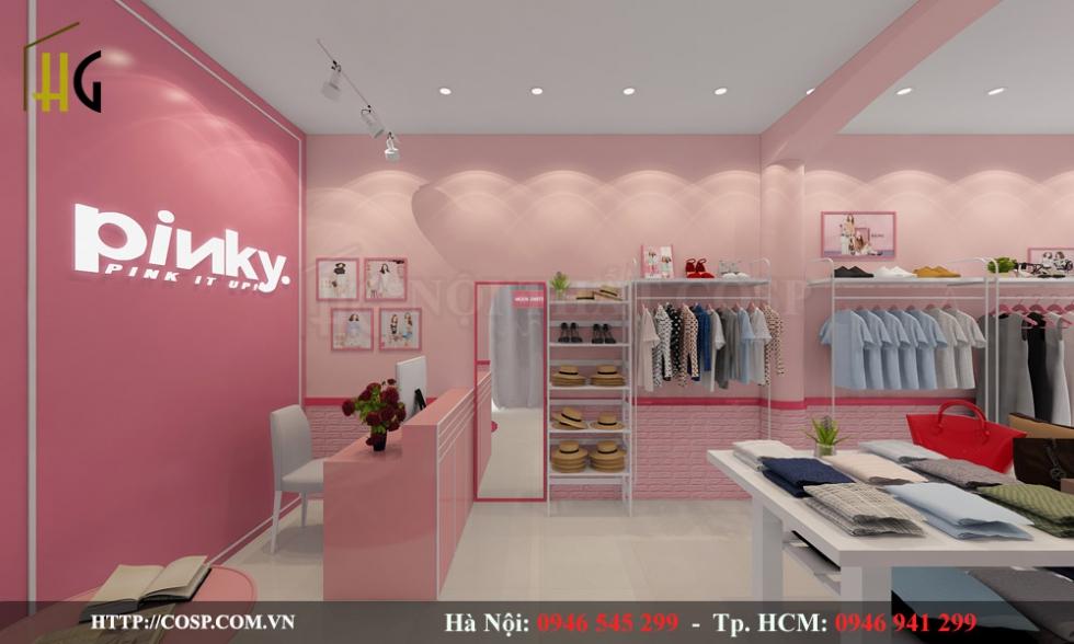 Thiết kế shop giá rẻ chuyên nghiệp tại Nội thất Penviet