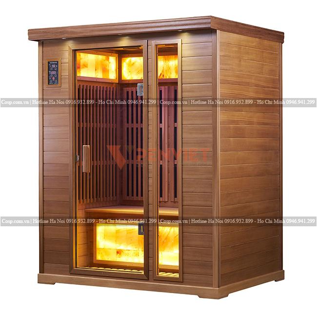 Thiết kế phòng xông hơi đá muối Himalaya DAS-001