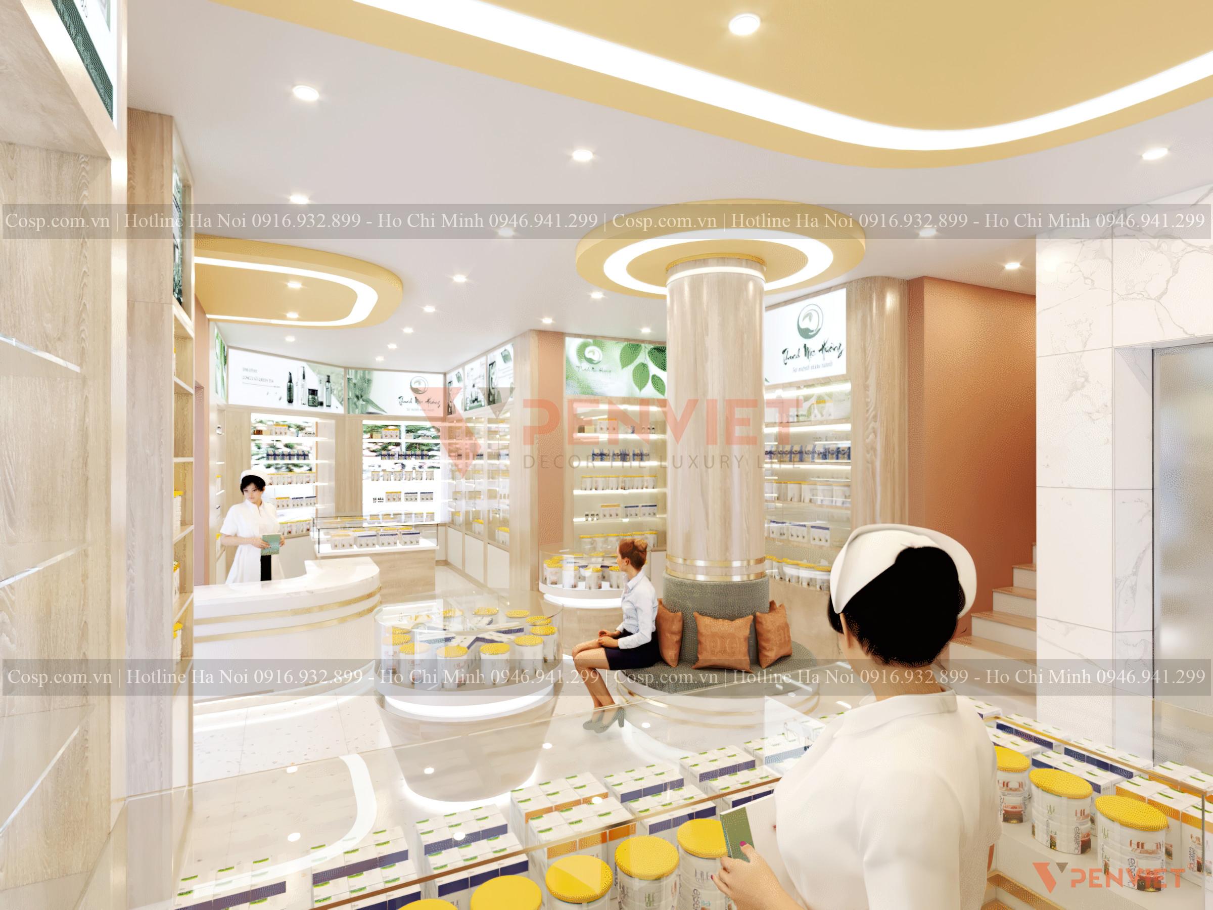 Thiết kế phòng khám đa khoa lớn nhất Phú Quốc