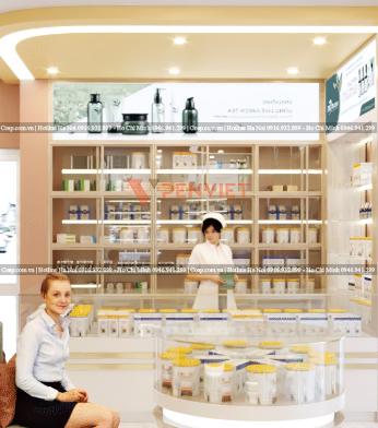 Hệ thống ánh sáng trong mẫu thiết kế phòng khám Sài Gòn Phú Quốc