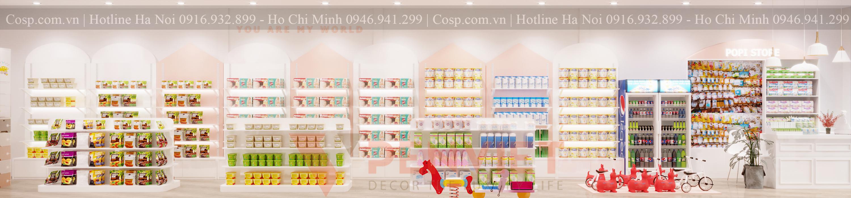 Thiết kế cửa hàng mẹ và bé POPI Store - 9