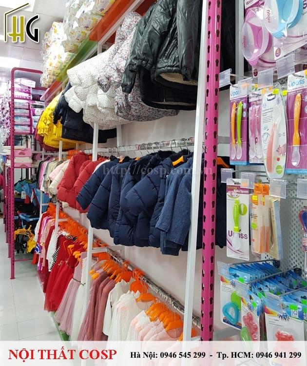 Thi công shop mẹ và bé Jim Tồ - Cơ sở 2 - Thanh Hóa