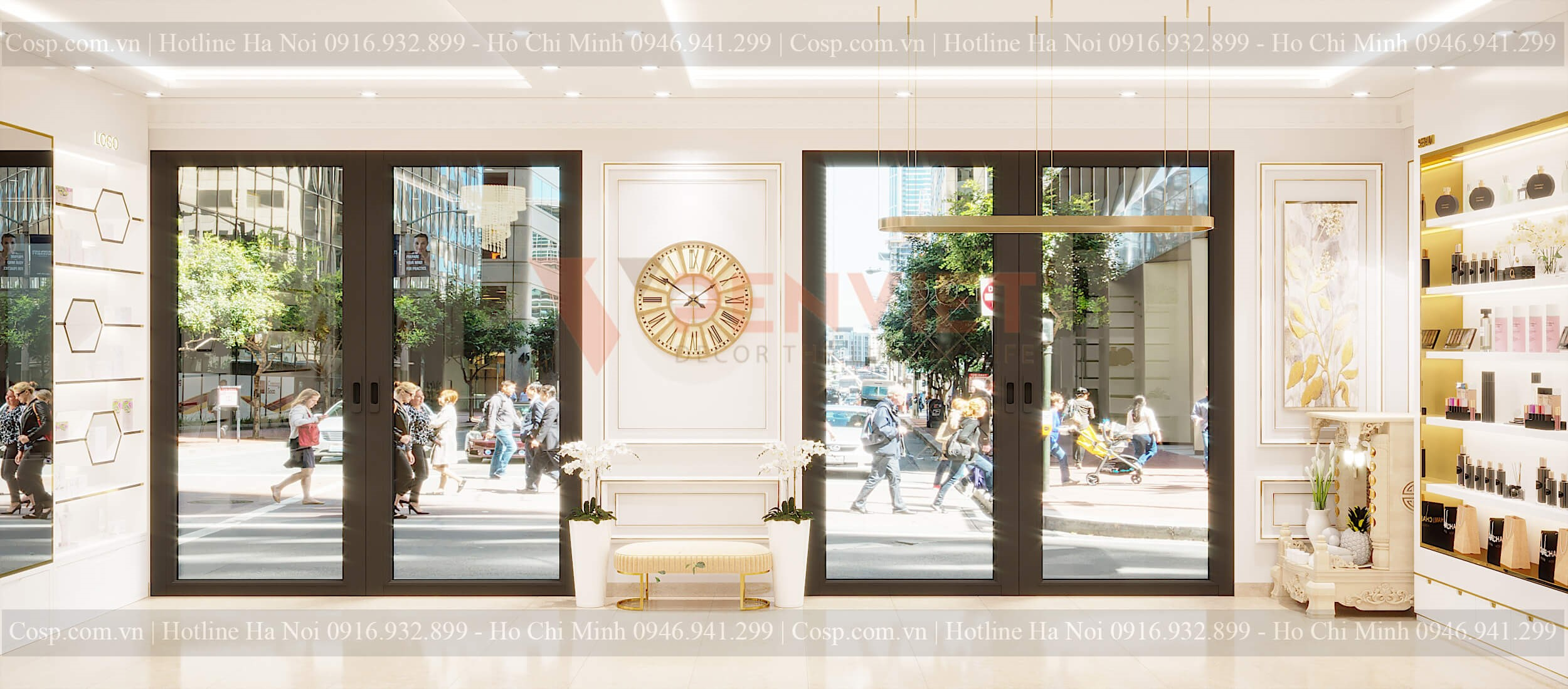 Penviet trau chuốt cho thiết kế spa Hoàng Linh từ những chi tiết nhỏ nhất