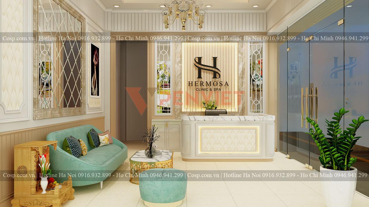 Thiết kế spa Hermosa tầng 1 - Tây Sơn