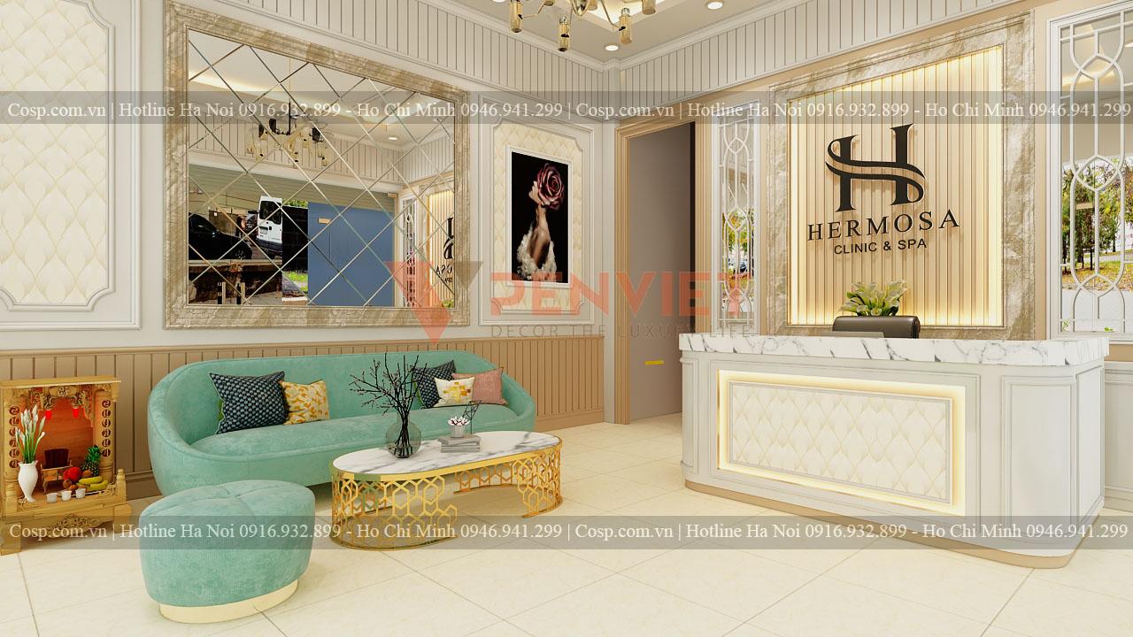 Thiết kế spa Hermosa - Tây Sơn - Tầng 1