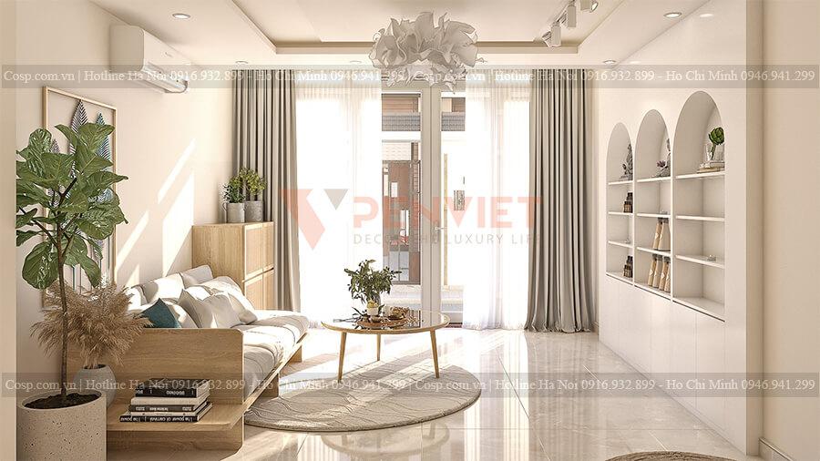 Thiết kế nội thất spa đẹp với không gian hiện đại
