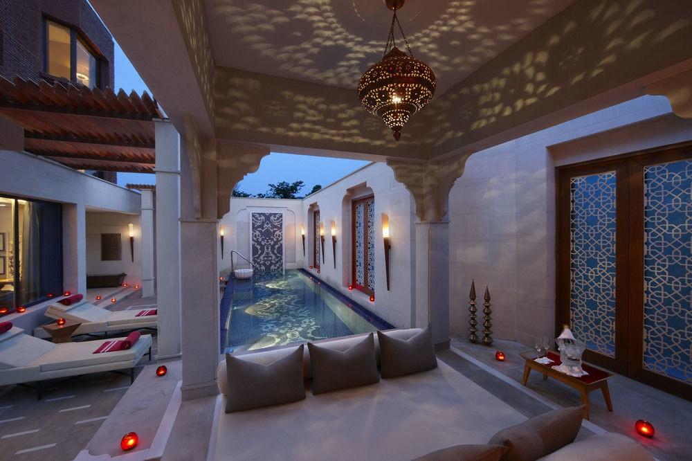 Phong cách Ấn Độ thể hiện qua nội thất spa đẹp