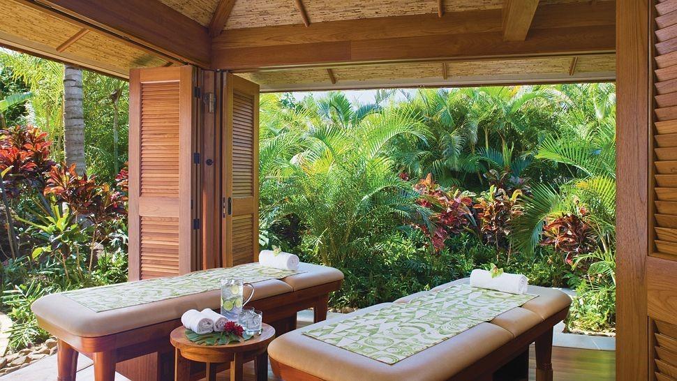Nội thất spa đẹp gần gũi với tự nhiên tập trung tạo nên những không gian mở và bài trí cây xanh