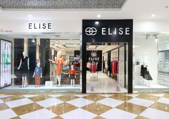 Cửa hàng thời trang Elise tại Time city