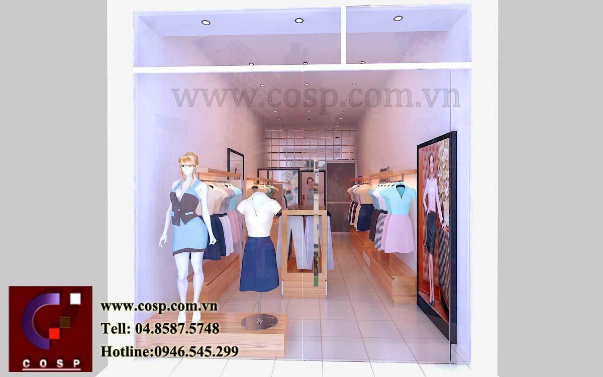 Hình ảnh đẹp của shop thời trang công sở Evy