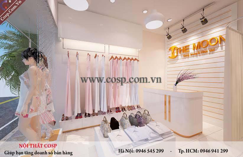 Mẫu Thiết kế shop Thời Trang nữ