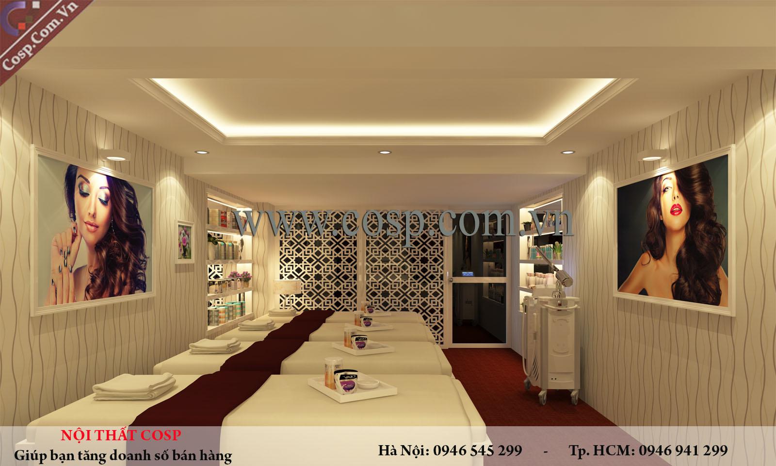Thiết kế spa tại Quảng Ninh