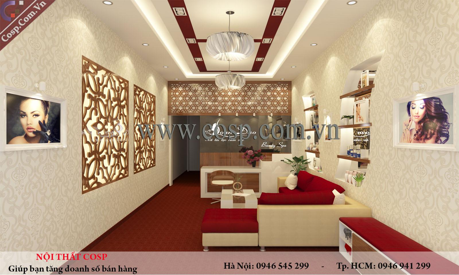 Ảnh thiết kế spa tại Quảng Ninh