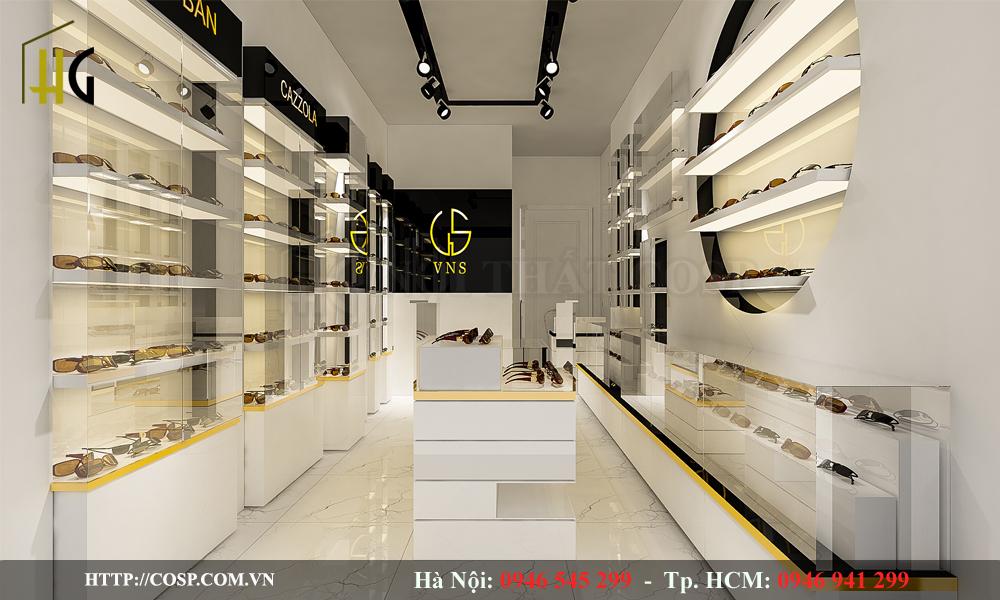 Thiết kế Shop Kính Mắt Anh Huy VNS