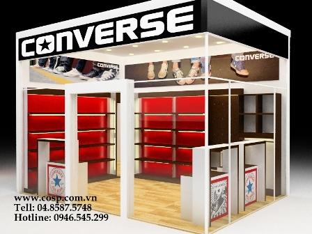 Thiết kế shop giày Converse - Đan Phượng