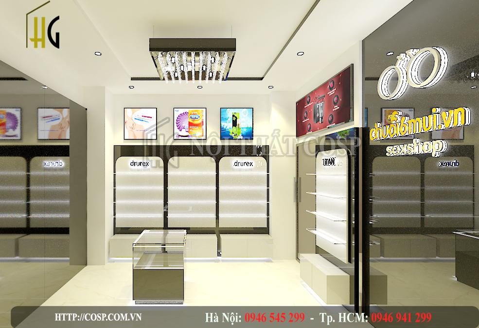 Thiết kế shop người lớn tại Tp HCM