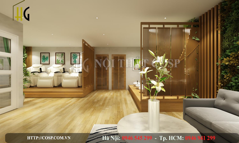 Thiết kế không gian nội thất Spa Mommy Anh Long – TP. Hồ Chí Minh