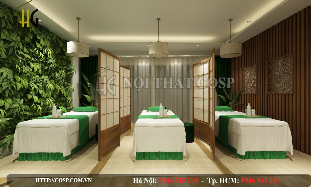 Mẫu thiết kế nội thất Spa Mommy Anh Long – TP. Hồ Chí Minh