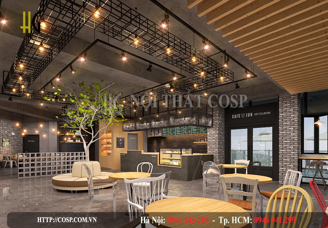Thiết kế quán cà phê mua mang về gần đây độc đáo