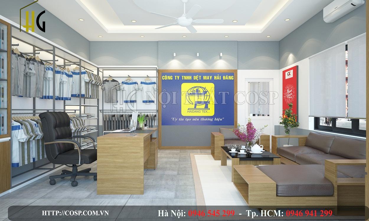 Thiết kế văn phòng Hải Đăng