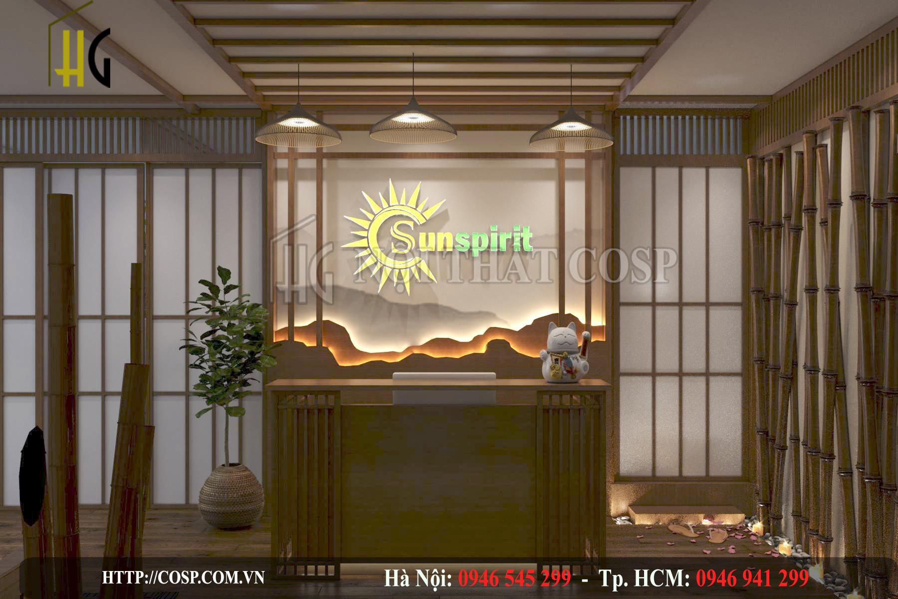 Hình ảnh thiết kế spa