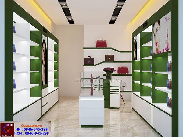 Thiết kế shop mỹ phẩm Co Co