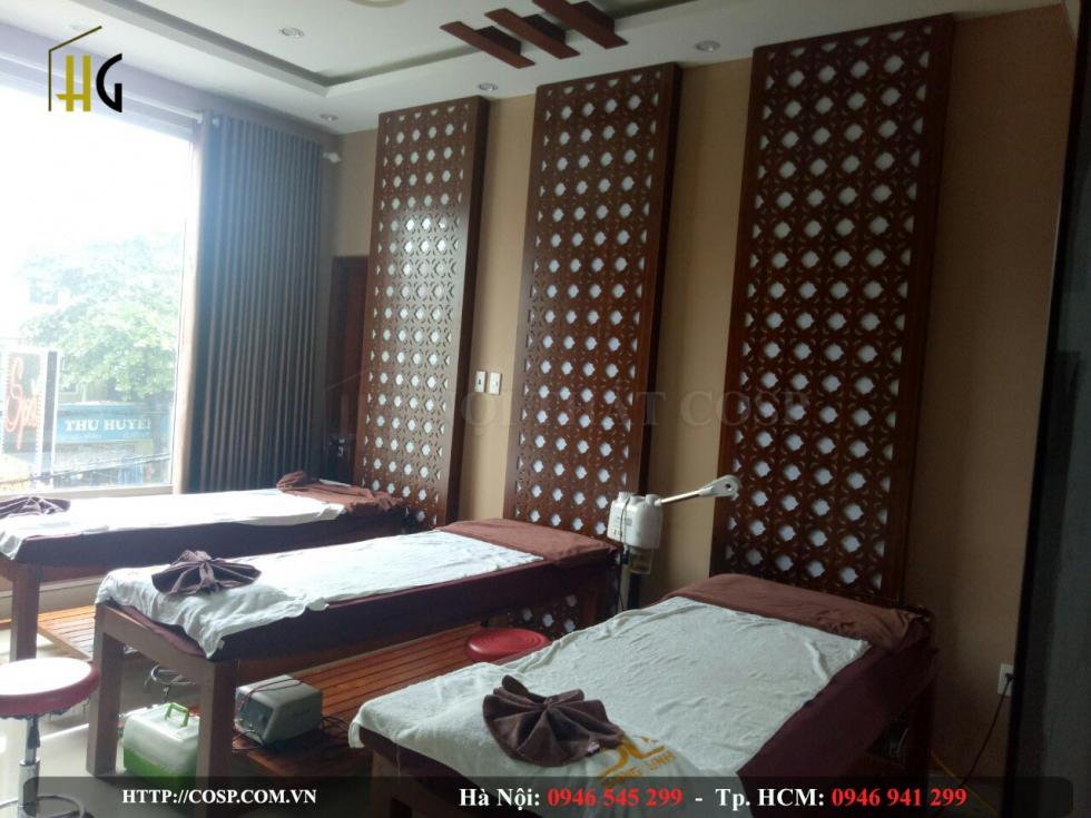 Dự án thi công Spa Song Linh - Hải Phòng
