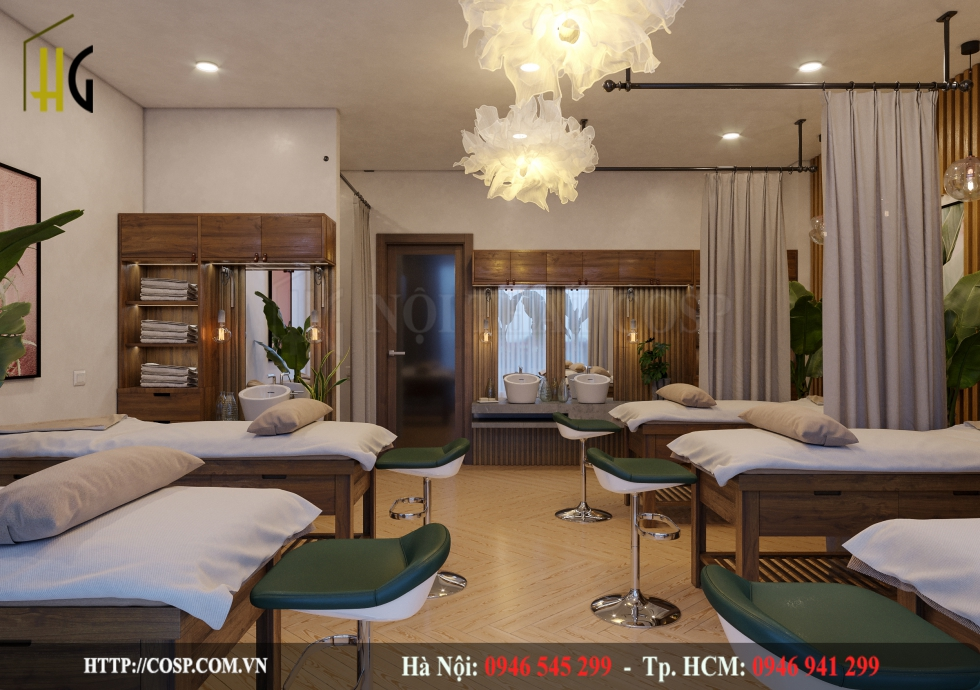 Thiết Kế Spa Mommy – Anh Ngọc - Nghệ An