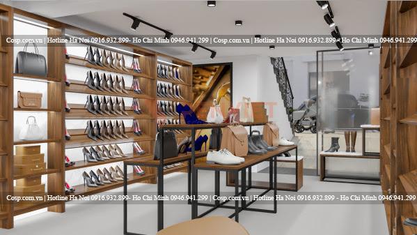Thiết kế cửa hàng đẹp với màu sắc tinh tế