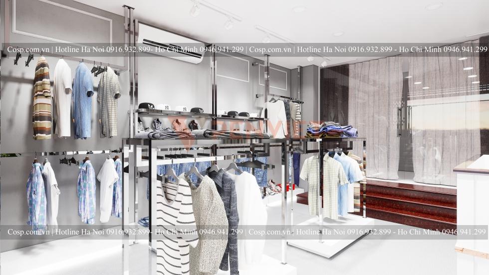 Thiết kế shop thời trang Tùng Boutique