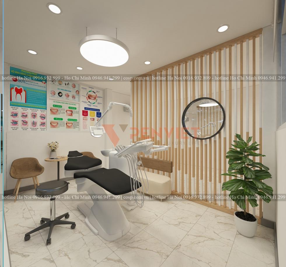 thiết kế phòng khám
