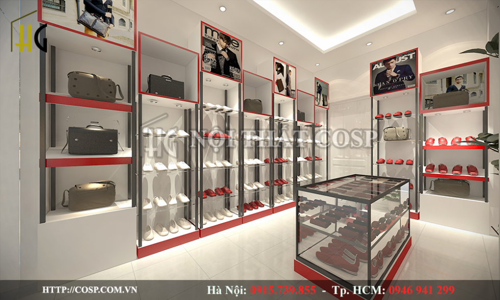 nội thất shop thời trang