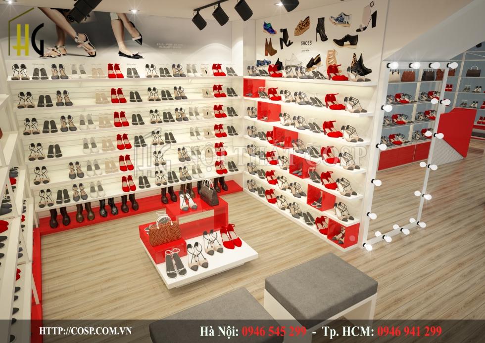 Thiết Kế Shop Giày VM
