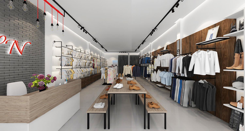 Thiết kế shop thời trang bền, đẹp, thu hút và tiết kiệm chi phí