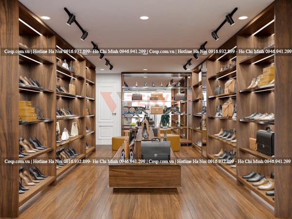 Thiết kế cửa hàng thời trang Pierre Cardin