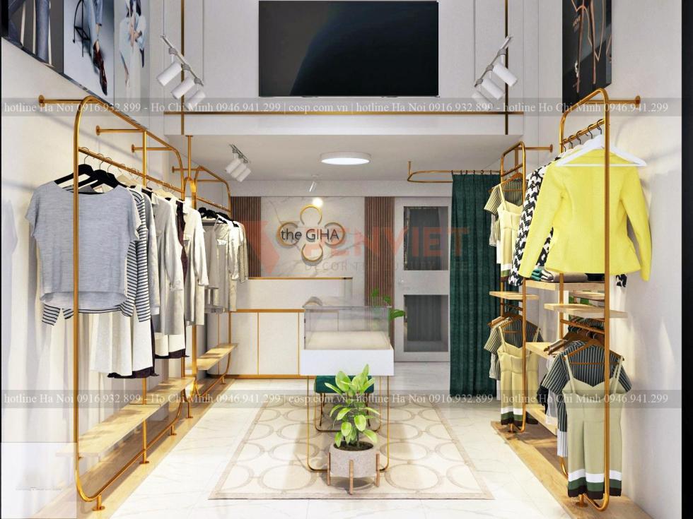 Thiết kế shop thời trang The GIHA